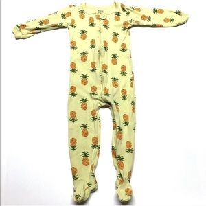 Leveret ORGANIC Pineapple Two Piece Top Pants 4T